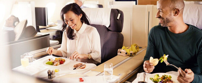 Angebot nach Singapur in der First Class mit Lufthansa