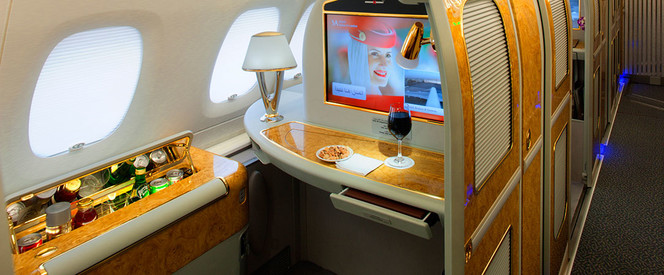 Angebot nach Peking in der First Class mit Emirates