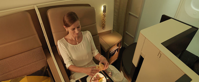 Angebot nach Abu Dhabi in der Business Class mit Etihad Airways