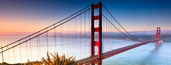 Angebot nach San Francisco in der Business Class mit Lufthansa