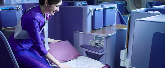 Angebot nach Melbourne in der Business Class mit Thai Airways