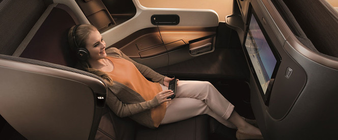 Angebot nach Bangkok in der Business Class mit Singapore Airlines