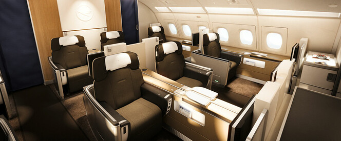 Angebot nach Bogota in der First Class mit Lufthansa