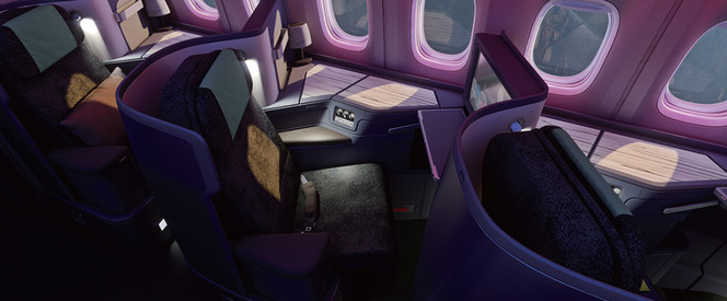 Angebot nach Bangkok in der Business Class mit China Airlines