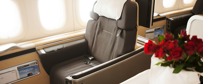 Angebot nach Sao Paulo in der First Class mit Lufthansa