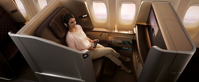 Angebot nach Singapur in der First Class mit Singapore Airlines