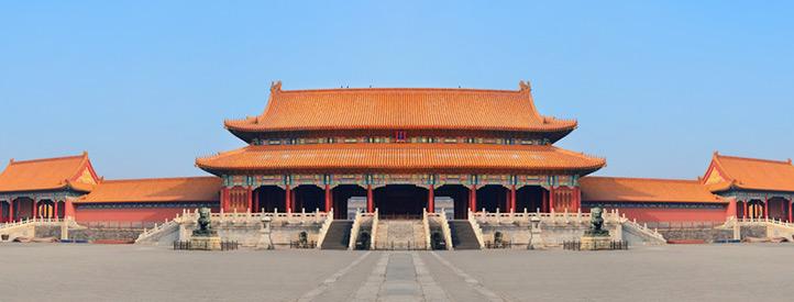 Angebot nach Peking in der Business Class