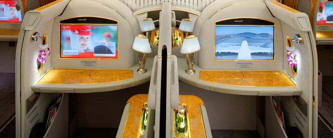 Angebot nach Bangkok in der First Class mit Emirates