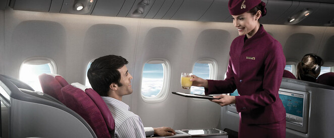 Angebot nach Peking in der Business Class mit Qatar Airways