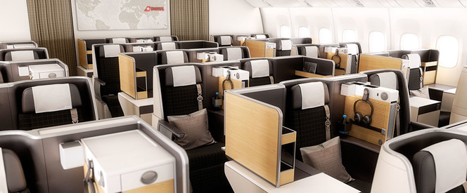Angebot nach Singapur in der Business Class mit Swiss International Air Lines
