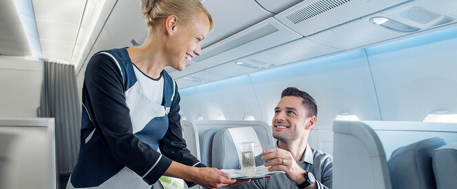 Angebot nach New York in der Business Class mit Finnair