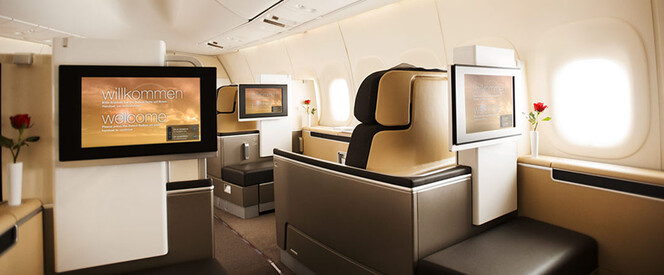 Angebot nach New York in der First Class mit Lufthansa