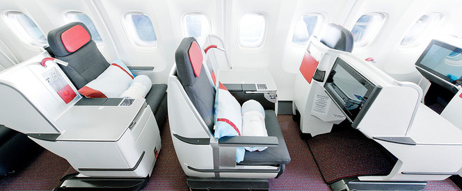 Angebot nach New York in der Business Class mit Austrian Airlines